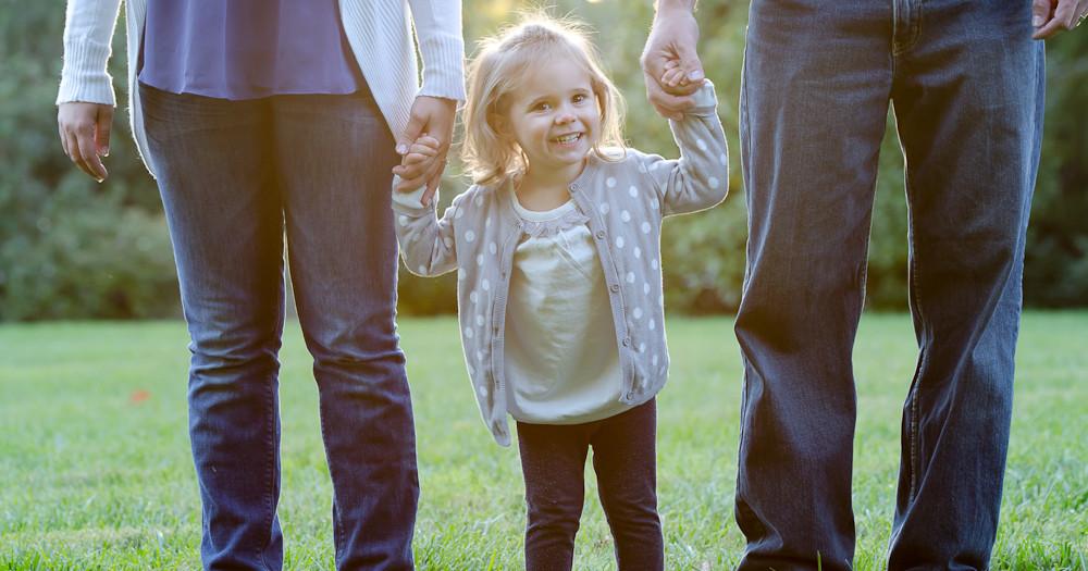 Mom & Dad & Their Bundle of Joy