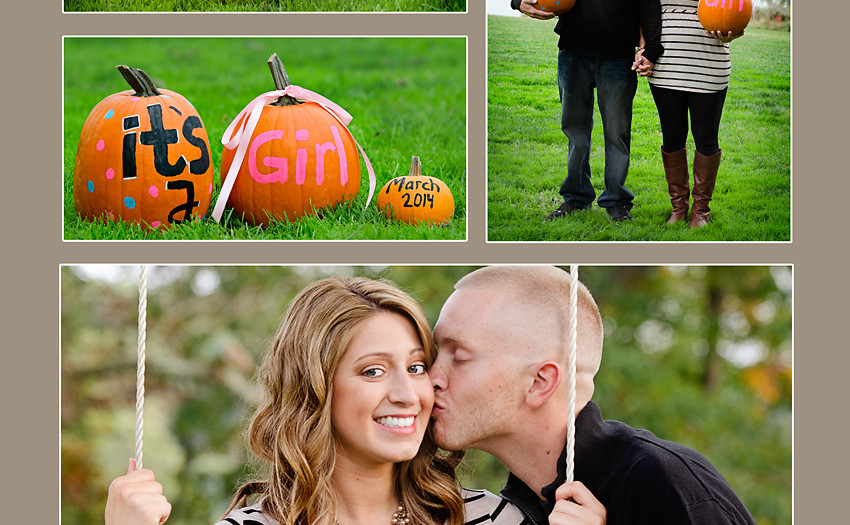 Gender Reveal Middletown Delaware Maternity Photography