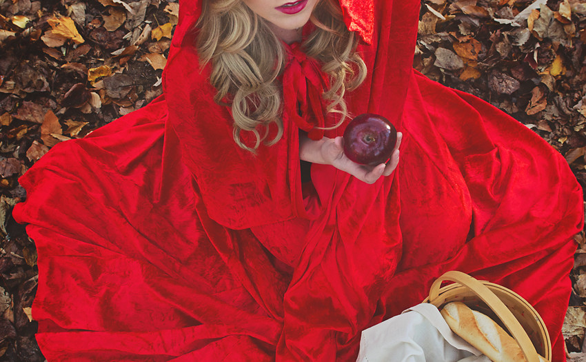 Dark Fairy Tale- Little Red Riding Hood