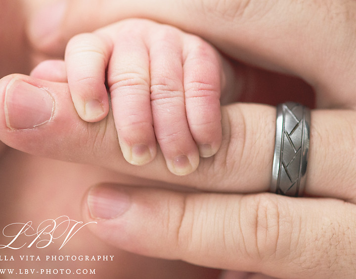 Newborn Photography | Newark, DE | The Lapsley Family