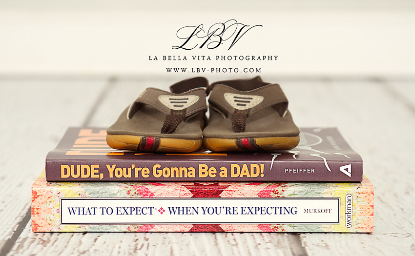 Pregnancy Reveal Photography | Rehoboth Beach, DE | The B. Family