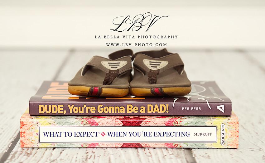 Pregnancy Reveal Photography | Rehoboth Beach, DE | The B. Family