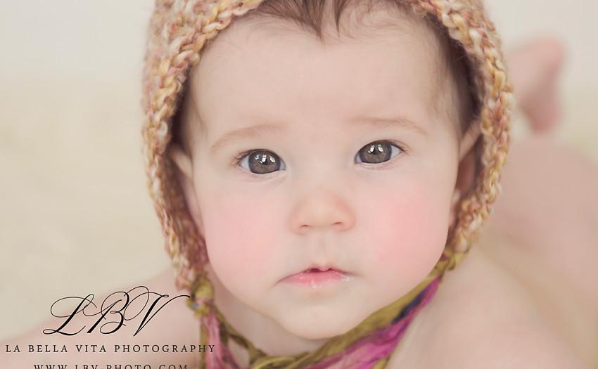 Child Photography | Wilmington, DE | Kinley 4 month shoot