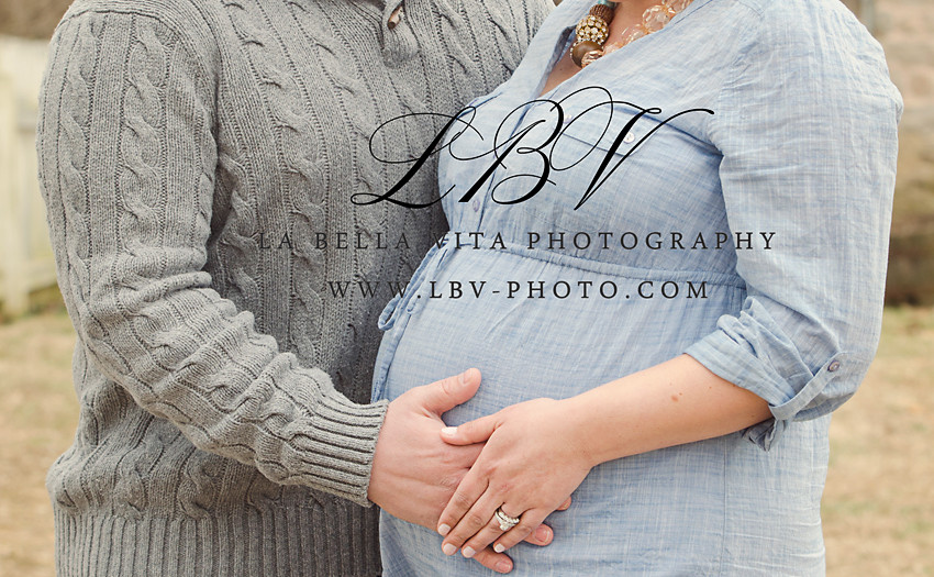 Maternity Photography | Wilmington, DE | M & D
