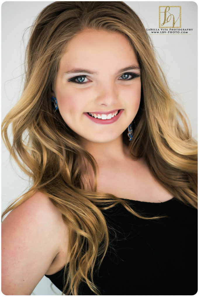 pageant headshot