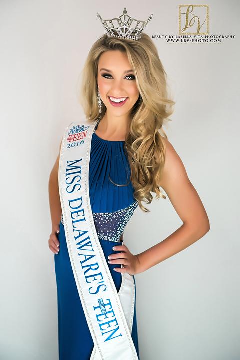 Ashley Swanson   Miss Delaware's Outstanding Teen 2016