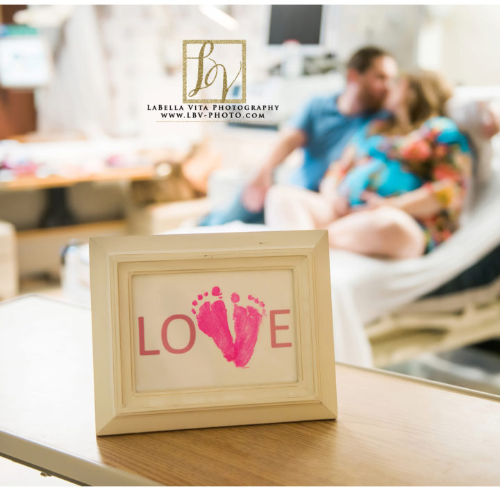 Pam & Jake | Hospital Maternity Session | Newark, DE