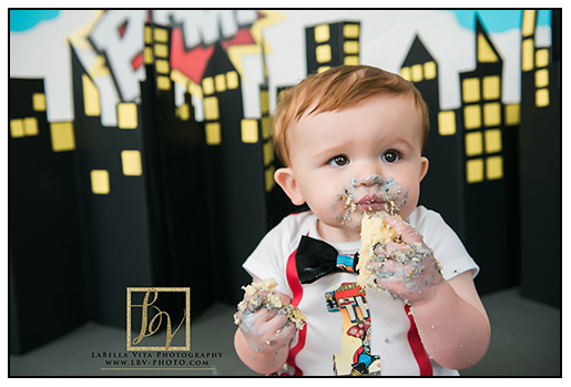 1 year cake smash! | Baby R | Middletown, DE