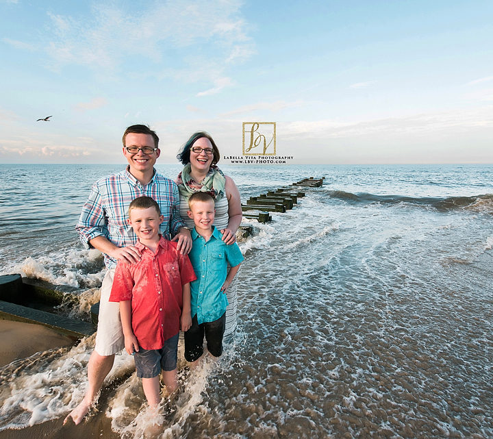 Beach Photography | The S Family | Rehoboth Beach, Delaware