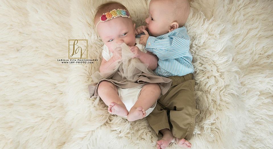Newborn Photography | The B Twins | Milford, DE