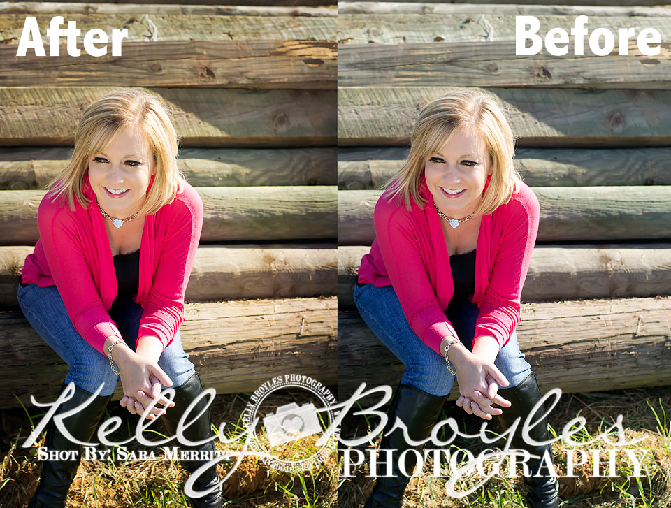 editing photos for clients